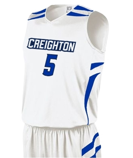 Picture of Creighton Prodigy #5 Youth Replica Basketball Jersey