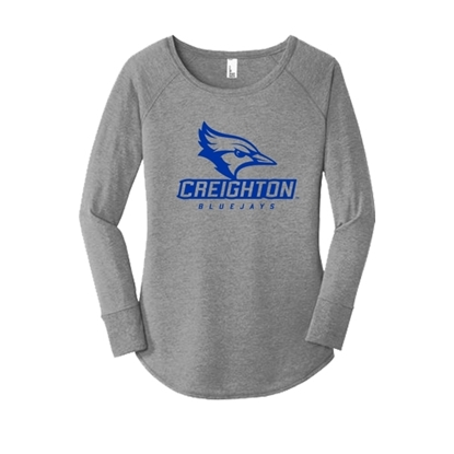 Picture of Creighton Ladies Long Sleeve Shirt (CU-178)