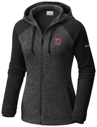 Picture of UNO Columbia® Ladies Darling Days Hooded Full Zip Black