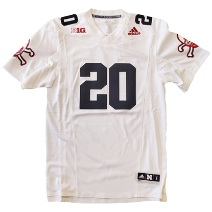 Picture of Nebraska Adidas® Replica Strategy Football Jersey