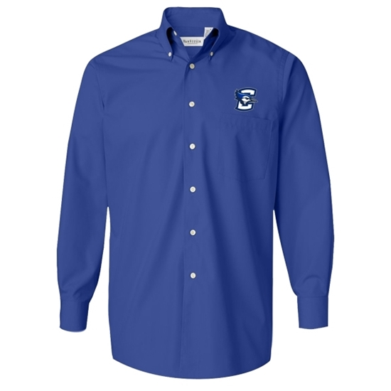 Picture of Creighton Button-down Long Sleeve Shirt (CU-EMB-001)