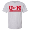 Picture of Nebraska Swimming Short Sleeve Shirt (NU-258)