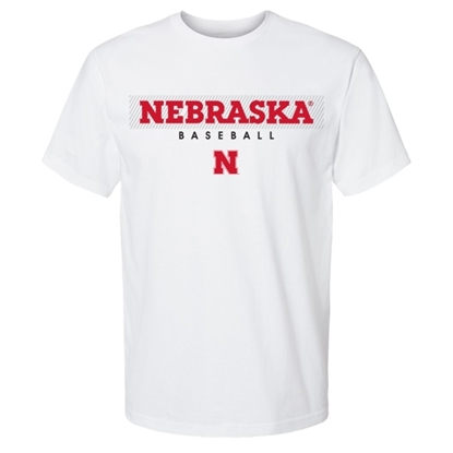 Picture of Nebraska Baseball Short Sleeve Shirt (NU-256)