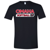Picture of UNO Softball Soft Cotton Short Sleeve Shirt (UNO-GTX-013)