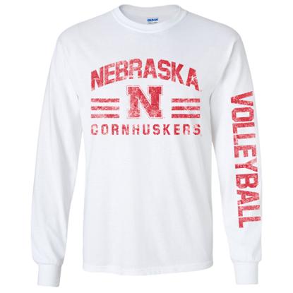 Picture of Nebraska Volleyball Long Sleeve Shirt (NU-269)