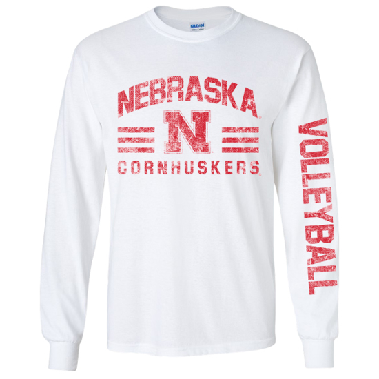 Picture of Nebraska Volleyball Long Sleeve Shirt (NU-269)