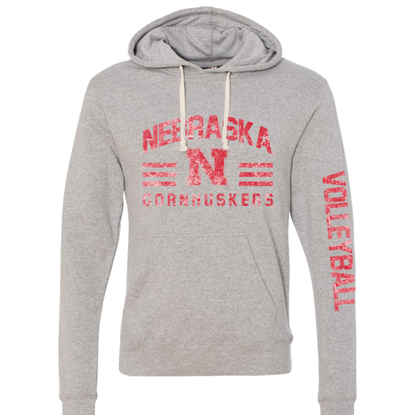 Picture of Nebraska Volleyball Hooded Sweatshirt (NU-269)