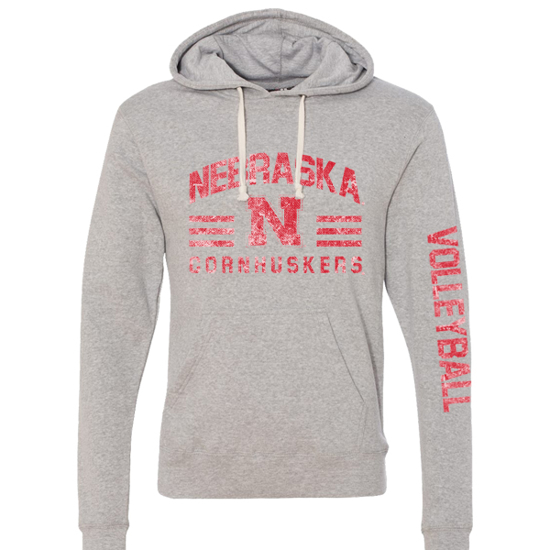 Picture of Nebraska Volleyball Hooded Sweatshirt (NU-269)