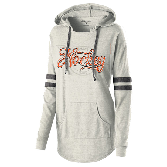 Picture of Lancers Ladies Hooded Low Key Pullover (LANCERS-229)