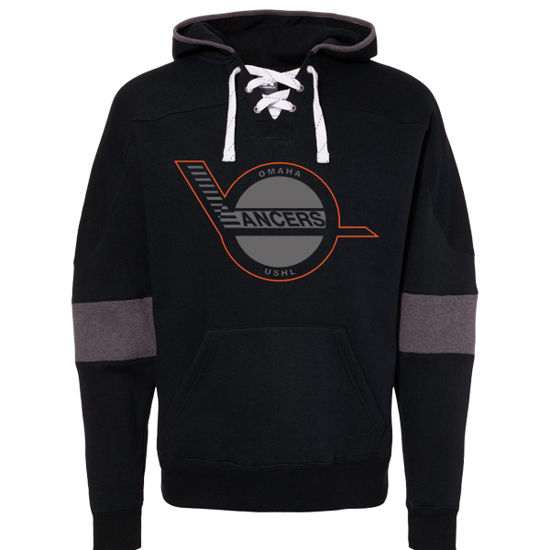 Picture of Lancers Sport Lace Colorblock Fleece Hooded Sweatshirt (Lancers-237)
