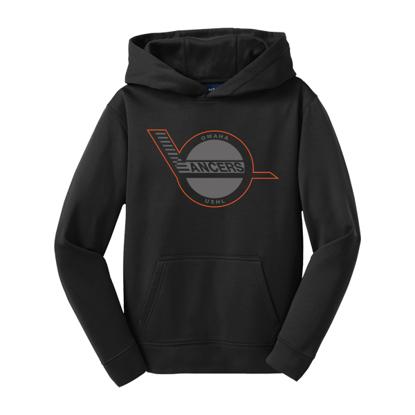 Picture of Omaha Lancers Youth Fleece Hooded Sweatshirt (LANCERS-237)