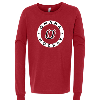 Picture of UNO Youth Jersey Long Sleeve Shirt (UNO-HOCKEY-074)