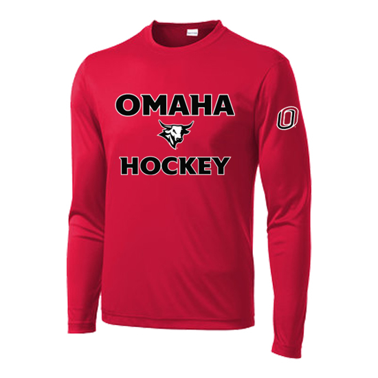 Picture of UNO Hockey Performance Long Sleeve Shirt (UNO-028)