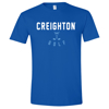 Picture of Creighton Golf Soft Cotton Short Sleeve Shirt  (CU-247)