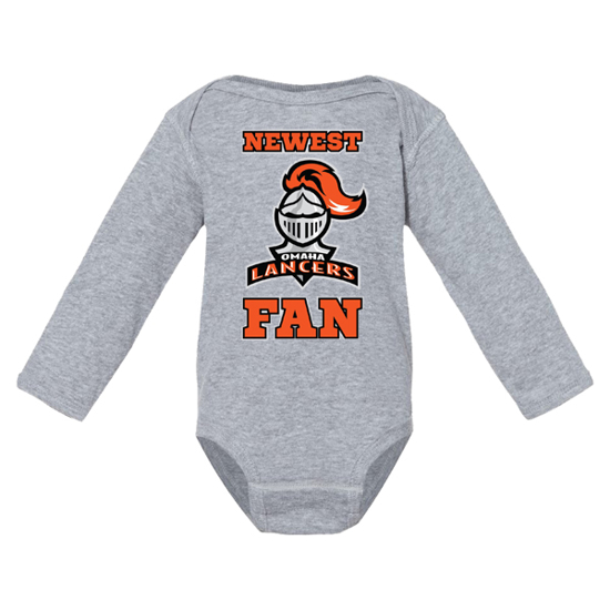 Picture of Lancers Hockey Infant Long Sleeve Bodysuit