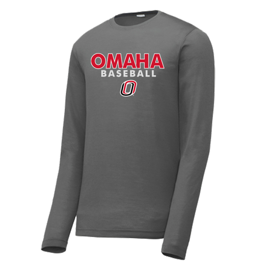 Picture of UNO Baseball Long Sleeve Competitor Shirt  (UNO-GTX-001)