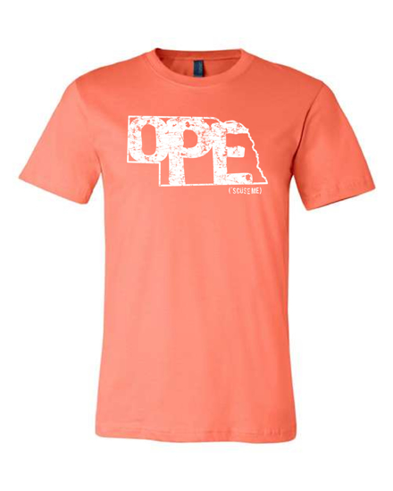 Picture of Nebraska OPE 'Scuse Me T-shirt