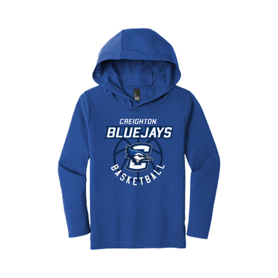 Picture of Creighton Basketball Youth Long Sleeve Hoodie (CU-192)