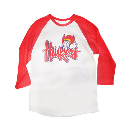 Picture of Nebraska Herbie Raglan Long Sleeve Shirt