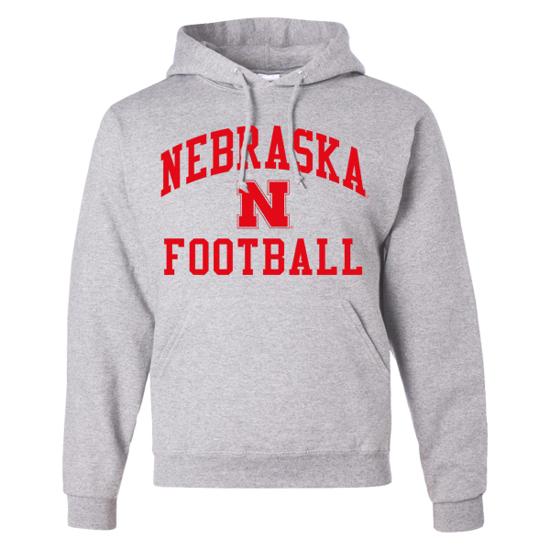 Picture of Nebraska Football Hooded Sweatshirt (NU-127)