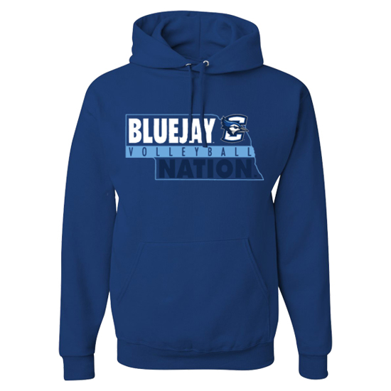 Picture of Creighton Volleyball Hooded Sweatshirt  (CU-236)