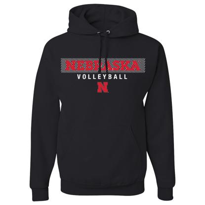 Picture of Nebraska Volleyball Hooded Sweatshirt (NU-271)