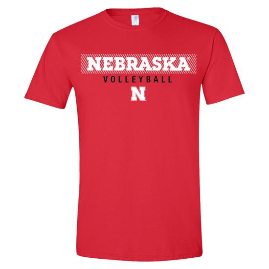 Picture of Nebraska Volleyball Short Sleeve Shirt (NU-271)