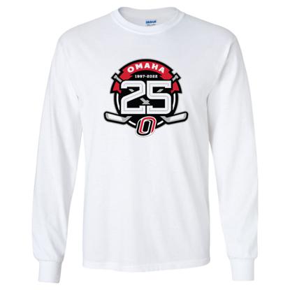 Picture of UNO Hockey 25th Anniversary Long Sleeve Shirt (UNO-Hockey-078)