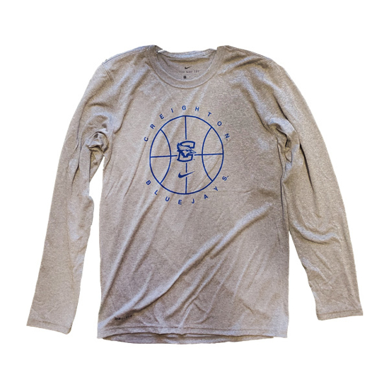 Picture of Creighton Nike® Legend Basketball Long Sleeve Shirt