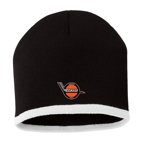 Picture of Lancers Bottom-Striped Knit Beanie