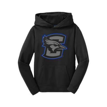 Picture of Creighton Youth Fleece Hooded Pullover (CU-212)
